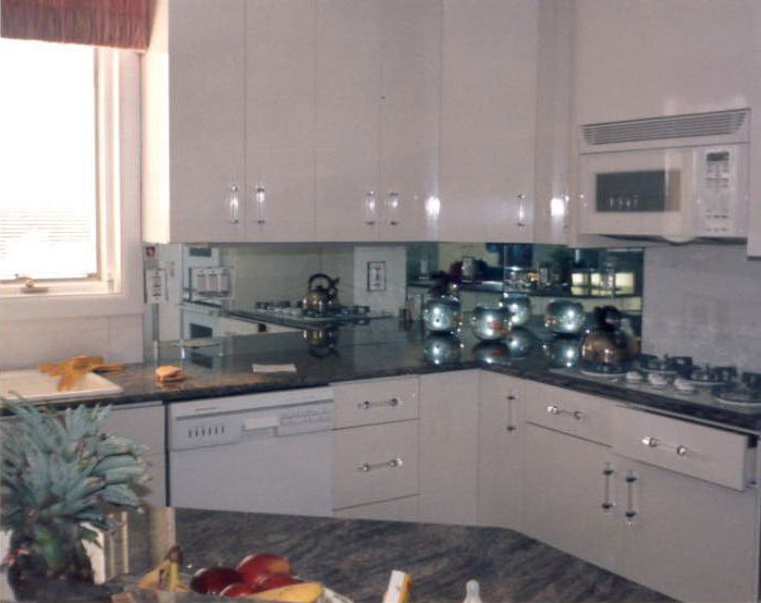 Kitchen Backsplash Mirrors